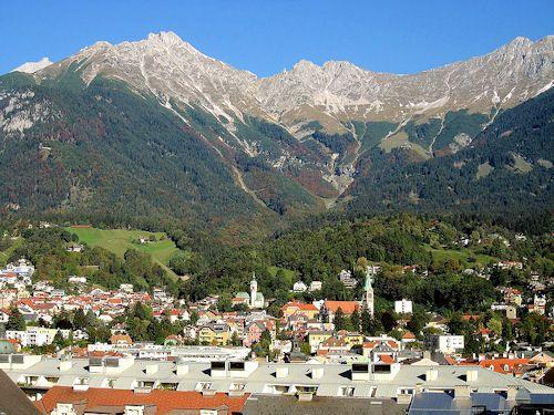 Austria – Innsbruck – Información turistica y guia de viaje de la ciudad de Innsbruck