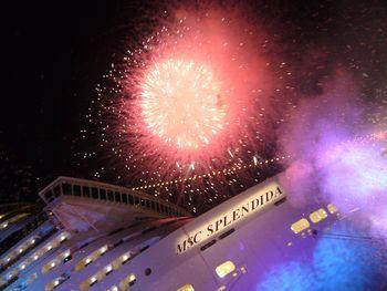 Inauguración y botadura buque crucero MSC ESPLENDIDA