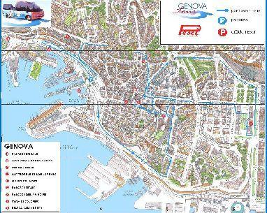 Excursión económica para cruceros y estancias en Génova  – visita de la ciudad