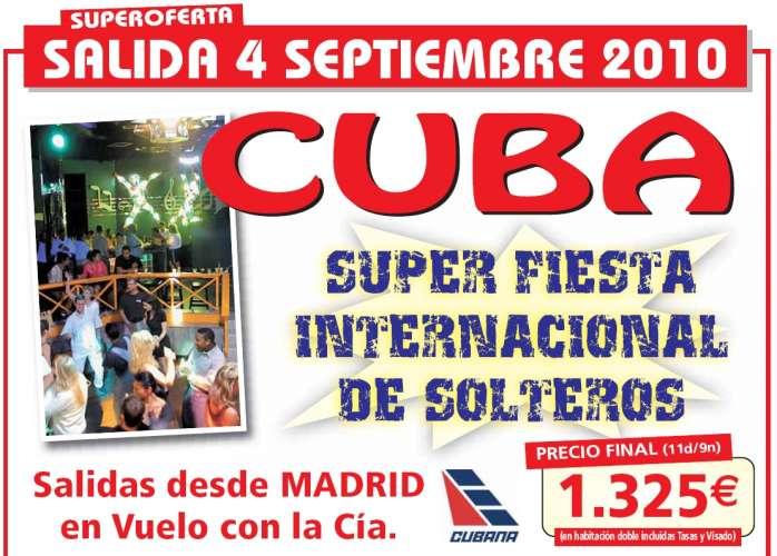 Oferta viaje vacaciones para singles: Solteros en Cuba