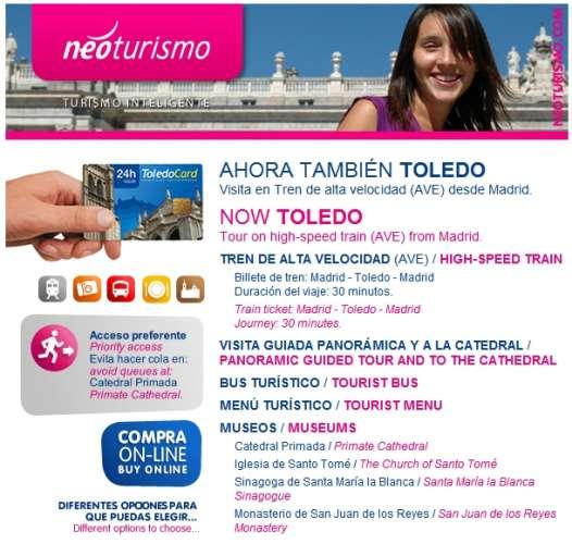 Visita Toledo en Tren de Alta Velocidad – Visita Toledo en tren d'Alta Velocitat