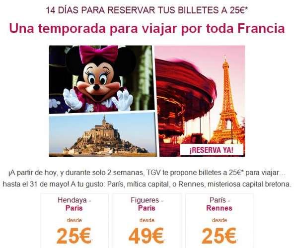 Superoferta para viajar en tren a París desde solo 25€ – bitllets de tren a París des de 25€