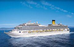 Un viaje de lujo a bordo de Costa Fortuna