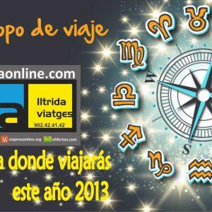 EL HOROSCOPO VIAJERO DEL 2013 – L'HOROSCOP VIATGER DEL 2013