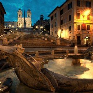 roma spanish steps