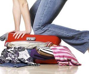 preparar maleta viaje