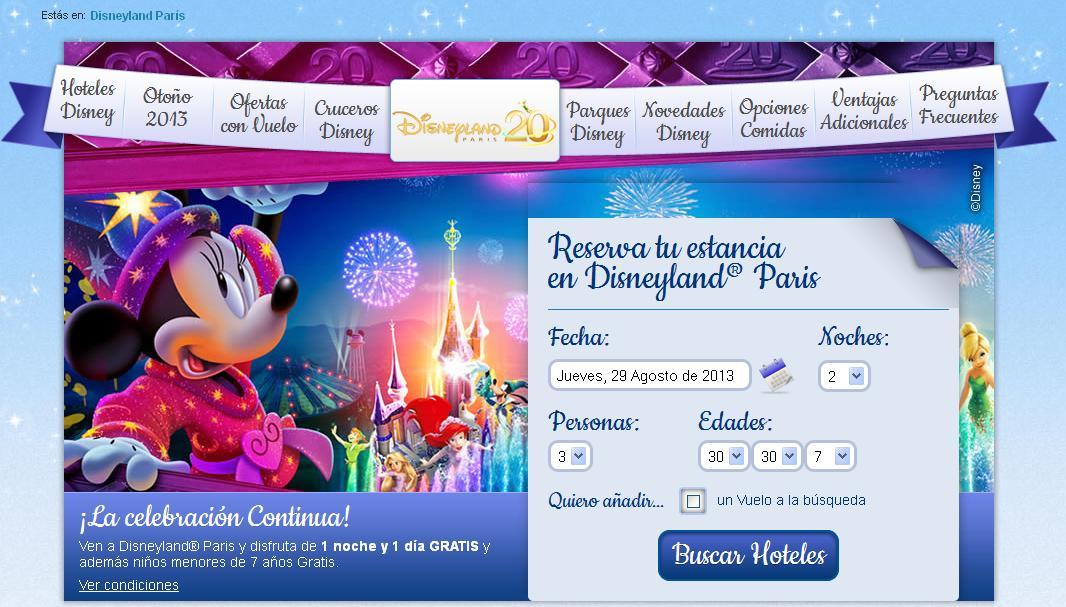Nueva programacion y promociones Disneyland Paris Otoño/Invierno 2013/14 / Noves programacions i promocions i ofertes Disneyland Paris tardor/hivern 2013-2014