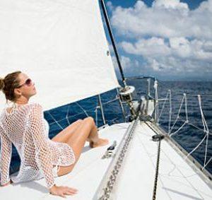yacht-woman