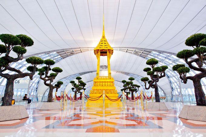 11 aeropuertos extravagantes por dentro / 11 aeroports extravagants per dins
