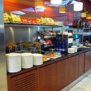 buffet sala vip