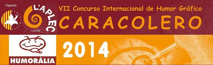 CONCURSO HUMOR GRAFICO CARACOLERO 2014 – CONCURS HUMOR GRÀFIC CARAGOLER 2014