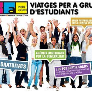 ESPECIAL VIATGES PER  A GRUPS D ' ESTUDIANTS