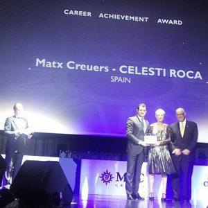 Nuestra agencia patrocinadora VIAJES ILTRIDA recibe dos premios ALL STAR, de MSC Cruceros