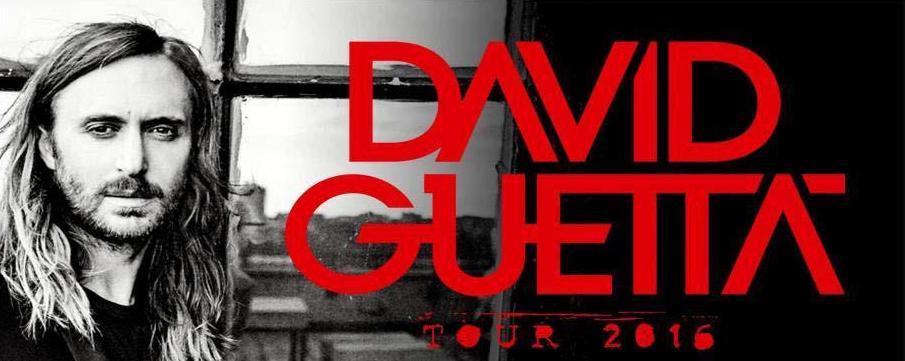 SÁBADO 6 DE AGOSTO 2016 David Guetta TOUR – DISSABTE 6 D'AGOST 2016 David Guetta TOUR