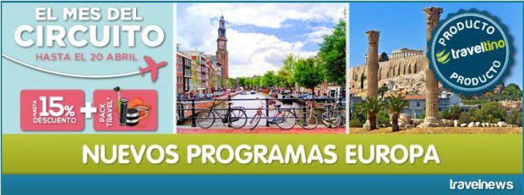Nuevos Programas Europa 2016 desde 381 Euros! – Nous Programes Europa 2016 des de 381 Euros!