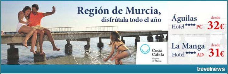 Región de Murcia, disfrútala todo el año desde 162 Euros! – Regió de Múrcia, gaudeix-la tot l'any des de 162 Euros!