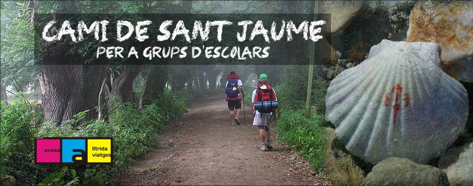 Camí de Sant Jaume per a grups d'escolars – Camino de Santiago para grupos de escolares
