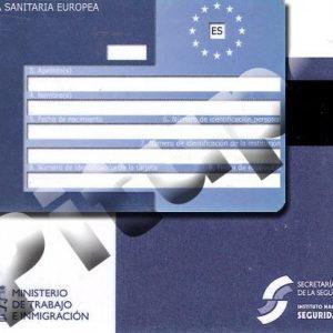 Información Oficial: Tarjeta Sanitaria Europea