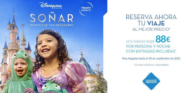 Soñar nunca fue tan necesario: Disneyland París abre sus puertas
